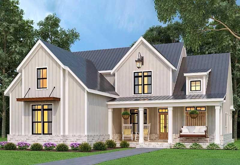 Two Story Farmhouse Design
